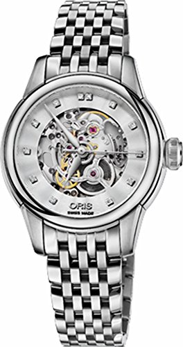 Oris Artelier Skeleton Womens Watch 56076874019MB