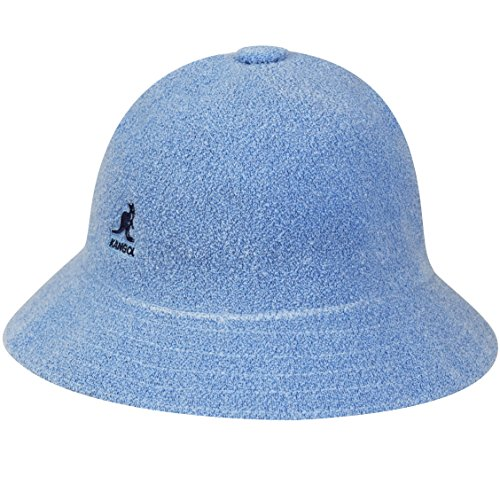 Kangol Men's Bermuda Casual Bucket Hat Classic Style, Light Blue ()