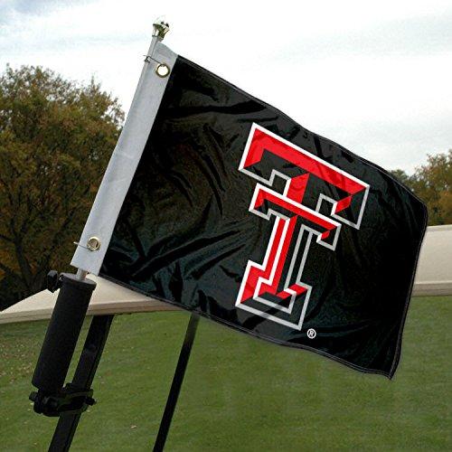 Texas Tech Golf Cart and Boat Flag