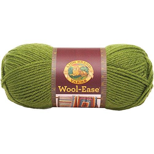 Wool Yarn Avocado - Lion Brand Yarn 620-174B Wool-Ease Yarn, Avocado