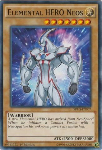 Yu-Gi-Oh! - Elemental HERO Neos (SDHS-EN007) - Structure Deck: HERO Strike - 1st Edition - Common