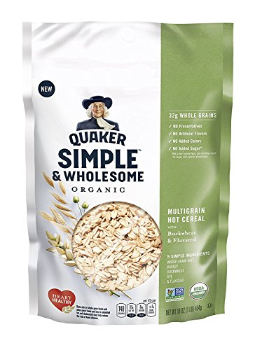 Quaker Simple & Wholesome Organic Multigrain Hot Cereal