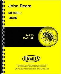 john deere 4020 tractor parts manual (sn 0 200999) john deere John Deere 4020 Clutch Diagram john deere 4020 tractor parts manual (sn 0 200999) john deere 0761873356020 amazon com books