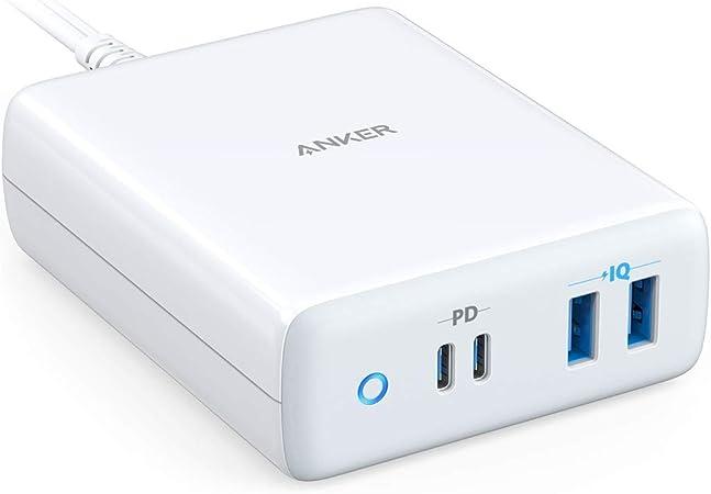Amazon.com: Cargador USB-C, Anker 100 W, estación de carga ...