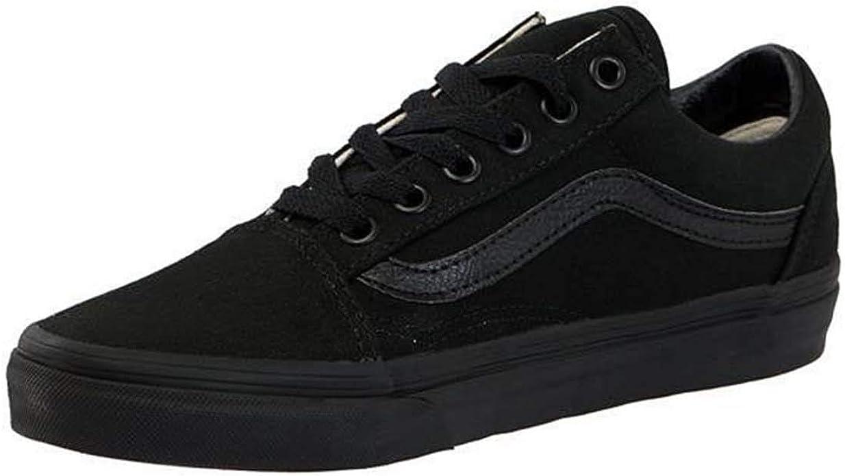 VAN Old Skool Skate Shoes Black All Size Classic Canvas Sneakers UK3-UK9