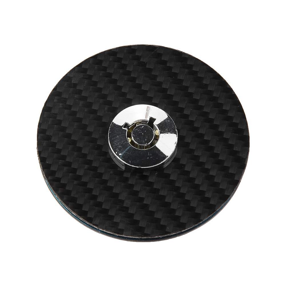 Universal Round Mount Bonnet Hood Lock Pins Kit Car Carbon Fiber Style Engine Hood Cover Lock Key Pin Kit Quick Latch Release