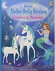Sticker Dolly Dressing: Unicorns And Mermaids