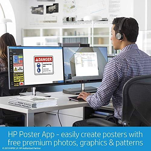 HP Designjet T125 - Impresora de Gran Formato (1200 x 1200 dpi ...