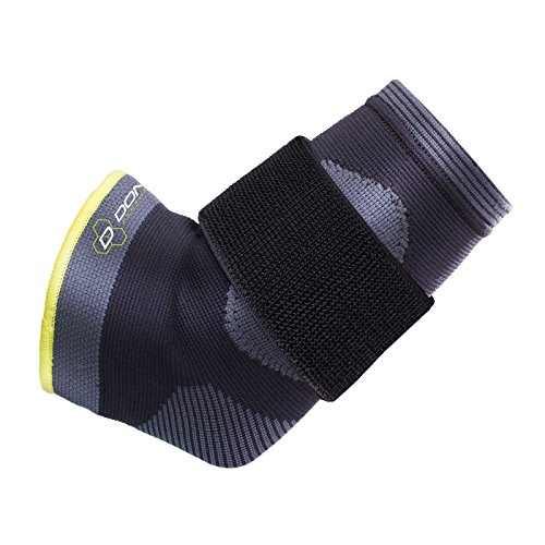 DonJoy Performance Deluxe Knit Elbow Sleeve with Compression Strap - Ideal for Golfer's Elbow, Tennis Elbow, and Elbow Tendonitis - (Deluxe Medical Sleeve)
