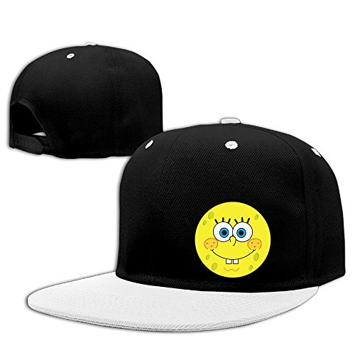[Smiley Face Flower Cool Baseball Hat Snapback Hats] (Smiley Movie Mask)