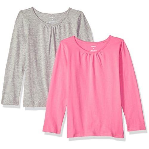 Carter's Girls' 2-Pack Long-Sleeve Tees