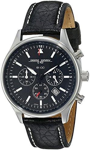 Jorg Gray Unisex JG6500-21 Analog Display Quartz Black Watch