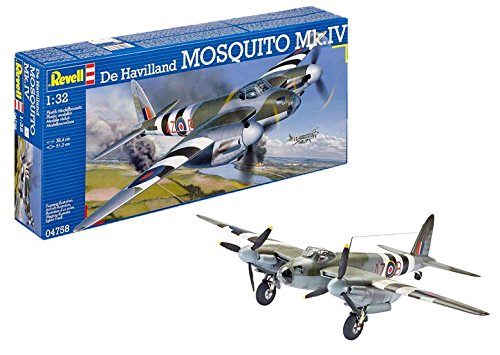(Revell Germany De Havilland Mosquito MK IV Airplane Kit)