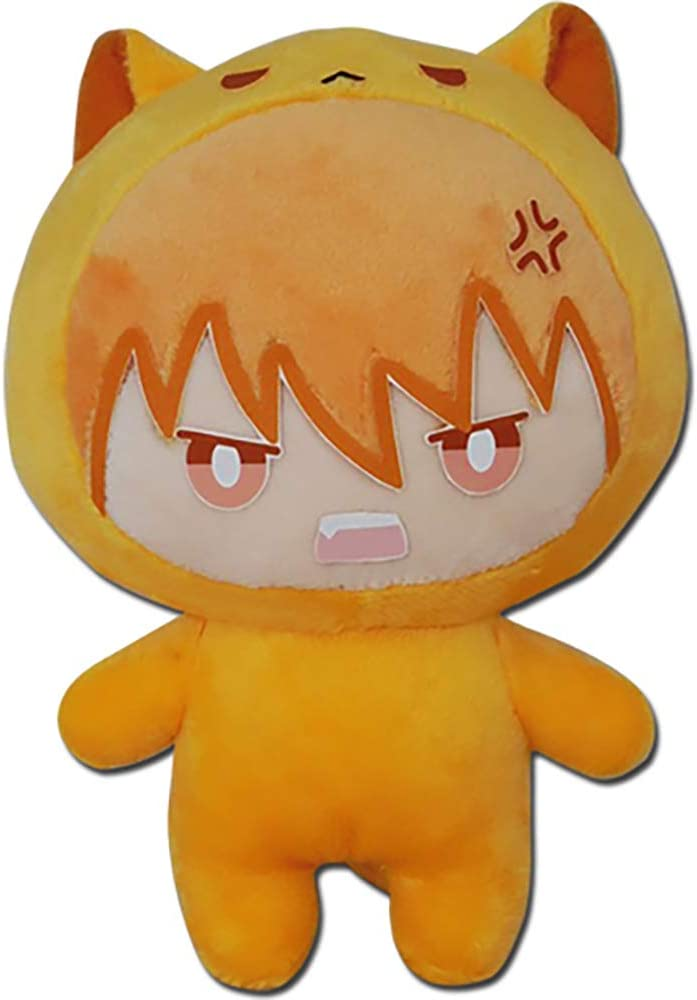 "Great Eastern Entertainment Fruits Basket - Kyo Cat Plush 6"" H"
