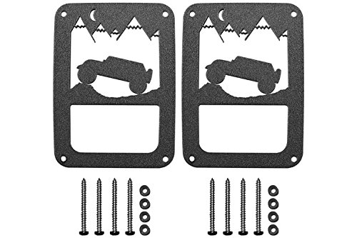 Jeep Tweaks Custom Tail Light Guards – 2-Pc Jeep Terrain – JTKJT11-B