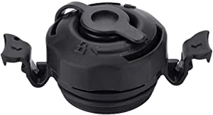 YiYuevi Bed Air Valve,3 in 1 Air Valve Secure Seal Cap Airbed Valve for in-tex Inflatable Airbed Mattress Black