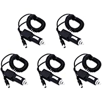 5pcs BAOFENG 10V Output Car Charger Cable Line For Baofeng UV-5R Series Two Way Radio BF-F8HP UV-82 GT-3 Walkie Talkie (5)