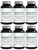 AlgaeCal Plus – Natural Calcium, Magnesium, Vitamin K2 + D3 Supplement – Increase Bone Strength – All Natural Ingredients – Plant-Based – Dietary Supplement – One Bottle – 120 veggie capsules Review