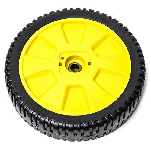 4PK Lawn Mower Wheels Fits John Deere 12SB, 14SB, 14SE, 14PB, JE75, JX75, AM115138, M111151, 72-115