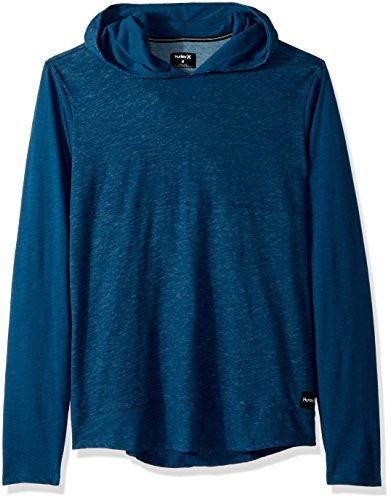 Hurley Men's Di-Fit Lagos Pullover Hoodie, Blue Force, M ()