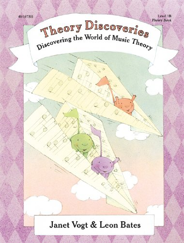 Piano Discoveries Theory Bk 1B (Piano Method)