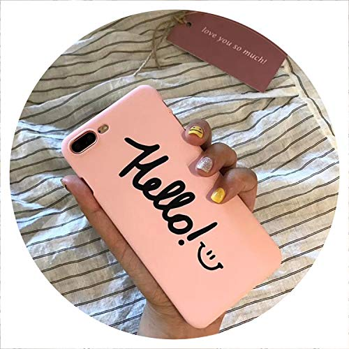 Cute Love Heart Print Back Cover for iPhone X 7 6 6S Plus 5 5S SE Phone Case Hard PC Cases Coque for iPhone 8 8 Plus,Style 21,for iPhone 8 Plus ()