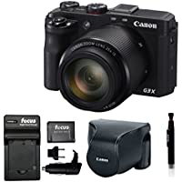 Canon PowerShot G3 X 20.2 Megapixel Digital Camera with Accessory Bundle Basic Intro Review Image