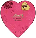 Lindt Valentine Gift Box, Gourmet Truffles Heart, 5.6 Ounce