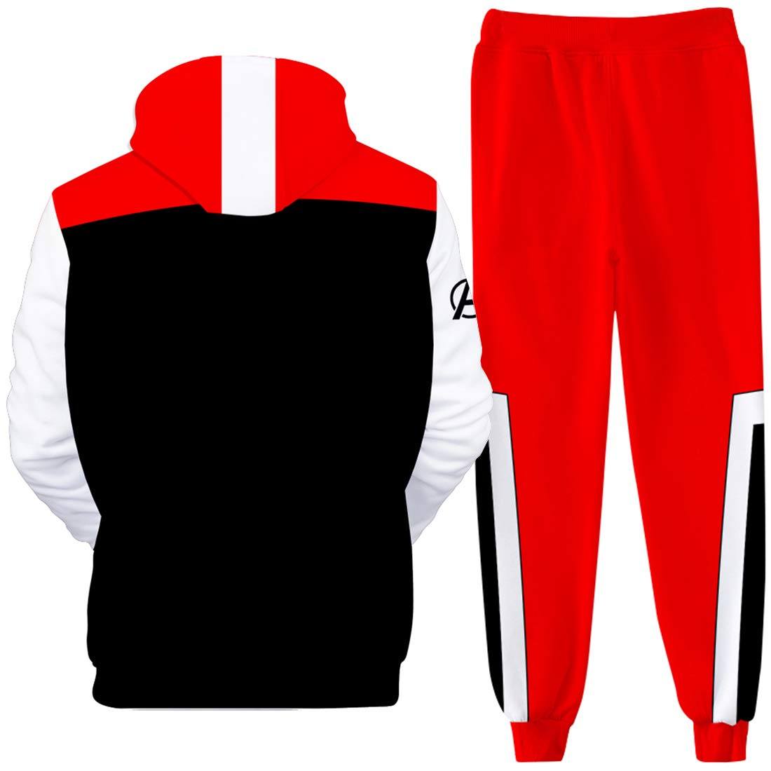 EmilyLe Boys Avengers Endgame Clothing Sets Superhero Hoodie with Sweatpants Quantum Realm Cosplay Costumes for Kids