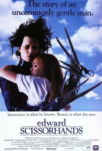 Edward Scissorhands Movie Poster - Style B