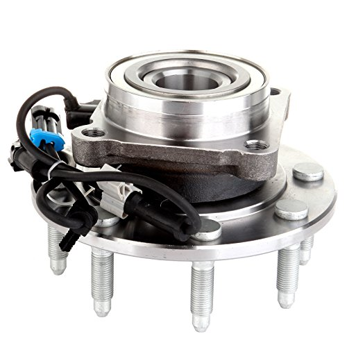 ECCPP Wheel Hub Bearing Assembly Front 8 Lugs w/ABS for Chevrolet GMC 1999-2007 Compatible with 515058 ()
