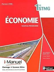Économie Première Stmg (Parcours Stmg) Licence Numerique Eleve I-Manuel+Ouvrage Papier
