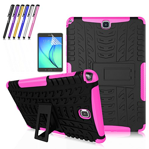Super Slim Cover for Samsung Galaxy Tab A 8-Inch Tablet SM-T350 (Black) - 3
