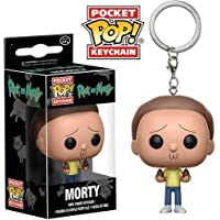 Funko Pop Keychain Rick and Morty - Morty Toy Figure
