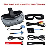 Kyпить Aomway Commander V1 Diversity 3D 40CH 5.8G FPV Goggles w/DVR Support HDMI and Head Tracker (Free ARRIS Battery Straps) на Amazon.com