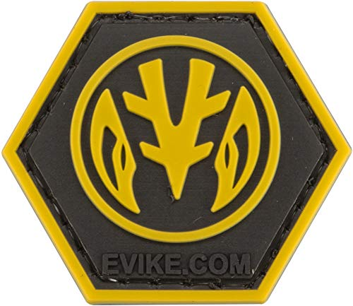 Evike Operator Profile PVC Hex Patch Geek Series (Style: White -