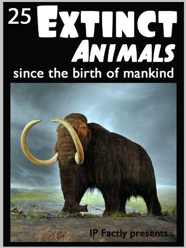 25 extinct animals since the birth of mankind animal facts