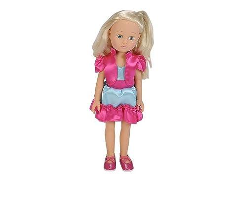 Muñeca Madeleine descubre el mundo de Madeleine con muchos accesorios por ejemplo con secador y rizador