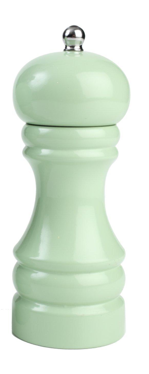 T&G Woodware Capstan Vintage Green Hevea Pepper Mill, 105mm 12137