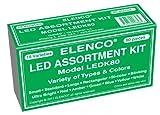 Electronics Best Deals - Elenco Electronics LEDK-80 Juego de componentes LED, 80 piezas