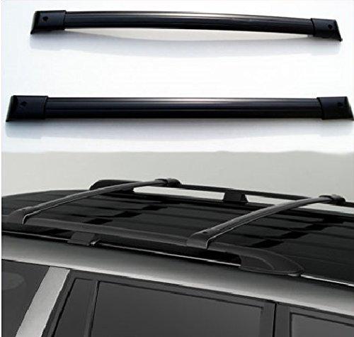 Nova for 99-04 Honda Odyssey Family Van OE Style Roof Rack Cross Bars Set Luggage Carrier Black (Honda Odyssey Roof Cross Bars compare prices)