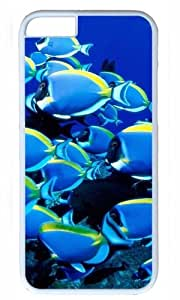 Blue Sea Fishes Easter Thanksgiving Masterpiece Limited Design PC White Case for iphone 6 by Cases & Mousepads
