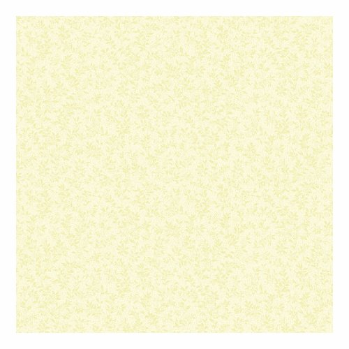 (York Wallcoverings SM8602SMP Small Treasures Tonal Leaf Sprigs on Textured Background 8 x 10 Wallpaper Memo Sample)