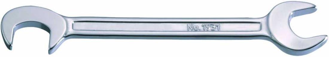Bahco 1931M-7 BH1931M-7 Liliput-Doppelmaulschl/üssel abgewinkelt 82,5/°+15/° 7mm