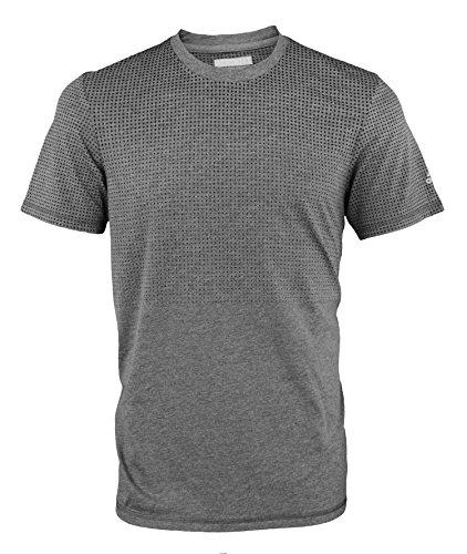 adidas Men's Performance Aeroknit ClimaCool Short Sleeve T-Shirt (Mens Practice Sleeve Tee Short)