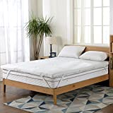 Gel Infused Memory Foam Mattress Topper - Twin - By Cheer Collection