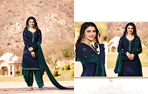 hochzet Salwar ETHNIC Shalwar donna 2690 Bollywood Patiala Tradizionale Girl Patiyala Kamiz Salwar EMPORIUM Pantaloni Punjabi Ladies Indiano Kameez Abito ggITqxFnAB
