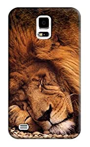 Lion Hard Back Shell Case / Cover for Samsung Galaxy S5