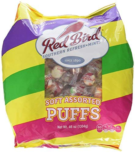Red Bird Soft Assorted Puffs, 46 Ounce -