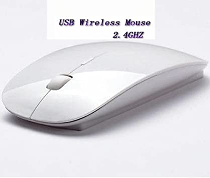 2.4GHz Slim Wireless Optical Mouse//Mice USB 2.0 Receiver For PC Laptop Computer